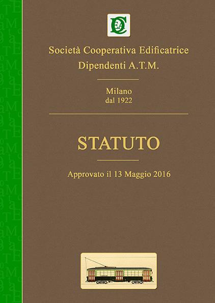 Copertina Statuto del 2016