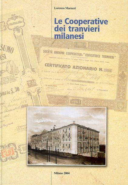 Copertina del libro dedicato alla storia della cooperativa pubblicato nel 2004