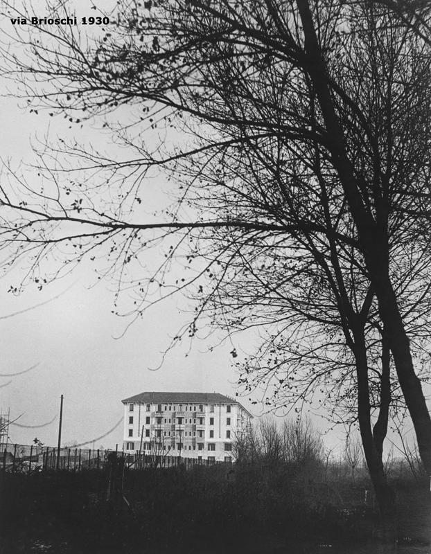 Il fabbricato di via F. Brioschi 93 - 1930