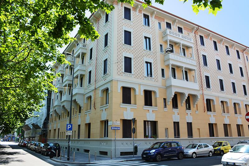 Via Francesco Brioschi angolo via Giovanni Da Cermenate - 2016