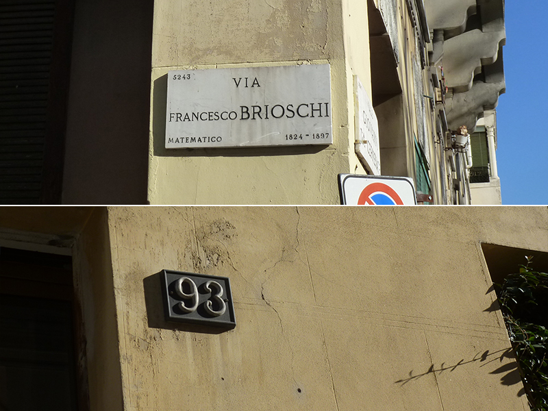 Via Francesco Brioschi, 93 - 2013