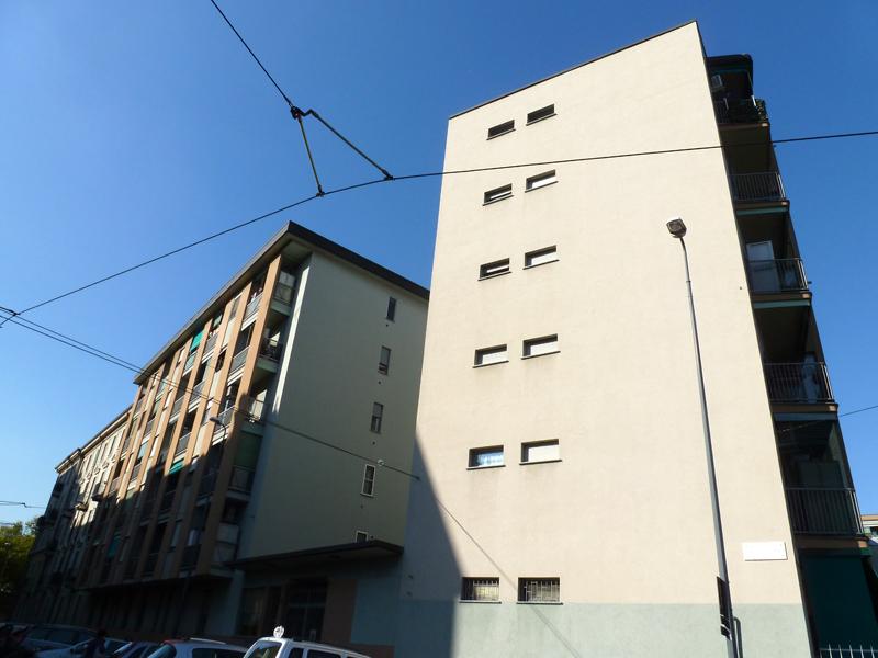 Il fabbricato di via E. Camerini 7 - 2013