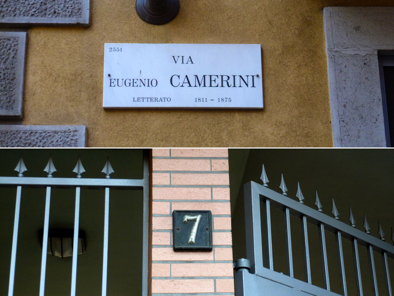 Via Eugenio Camerini 7 - 2013