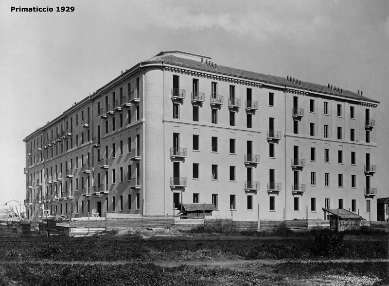 Il fabbricato di via F. Primaticcio 196 - 1929