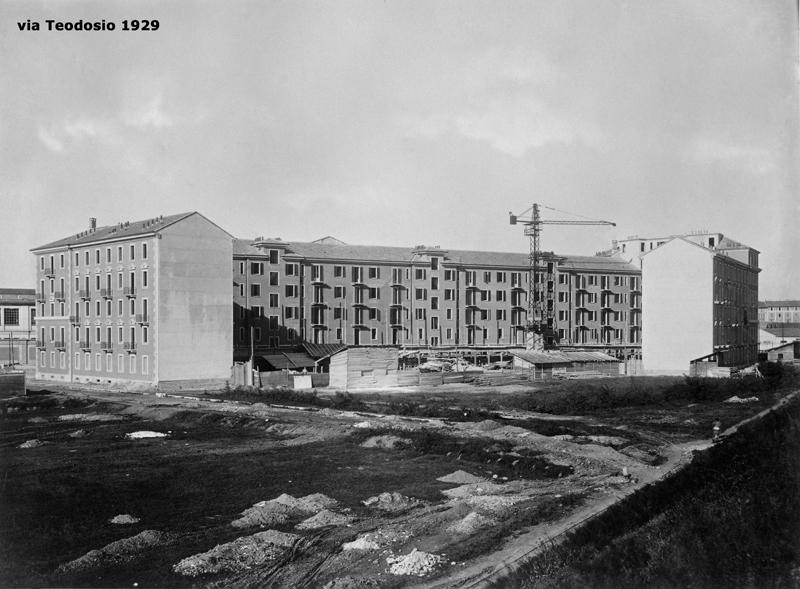 Il fabbricato di via Teodosio 104 - 1929
