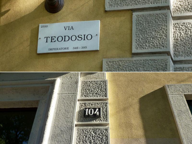 Via Teodosio 104 - 2013